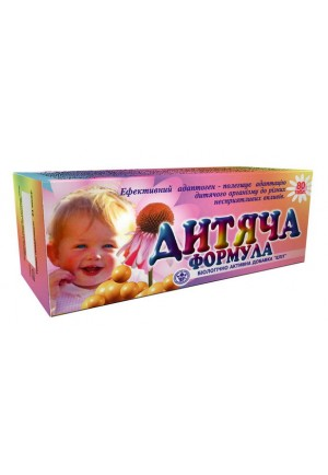 """БАД для иммунитета ребёнка """"Детская формула"""" №80"""