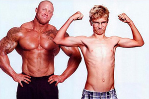 Как набрать массу тела худому парню