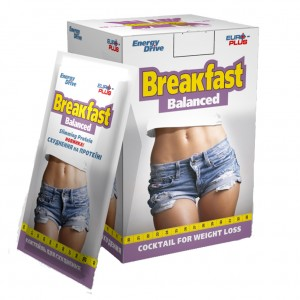 Коктейль для похудения сбалансированный завтрак ( ...
