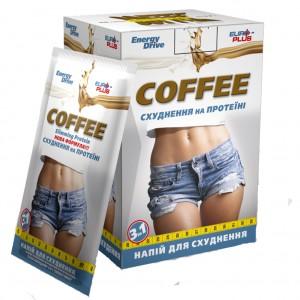 Напиток кофейный растворимый с протеинами и углево...