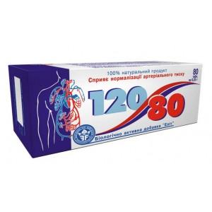 """БАД для нормализации давления """"120/80"""" №..."""