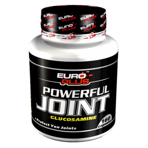 Хондропротектор POWERFUL JOINT GLUCOSAMINE, 160к...